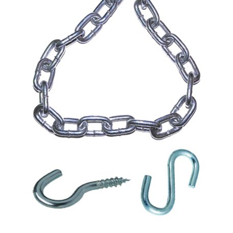 ultimate chain kit for hanging dispenser system