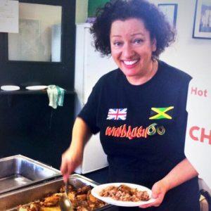 Celebrity chef Carol Harris