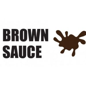 Brown Sauce Sticker