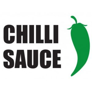 Chilli Sauce Sticker