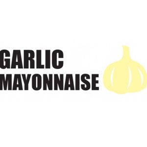 Garlic Mayonnaise Sticker