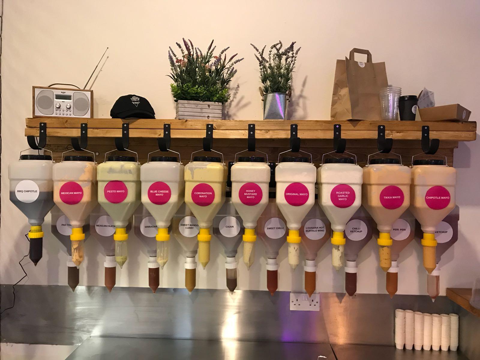 Liquid Dispenser For Sauce Soap And Liquids Hanging