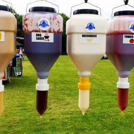sauce udder dispensers